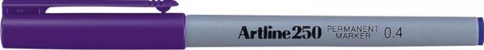 Permanent marker ARTLINE 250, corp plastic, varf rotund 0.4mm - violet [0]
