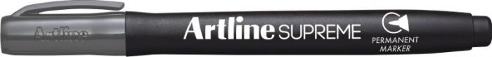Permanent marker ARTLINE Supreme, corp plastic, varf rotund 1.0mm - gri [0]