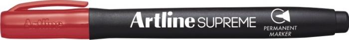 Permanent marker ARTLINE Supreme, corp plastic, varf rotund 1.0mm - rosu [0]