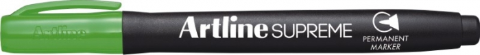 Permanent marker ARTLINE Supreme, corp plastic, varf rotund 1.0mm - vernil [0]