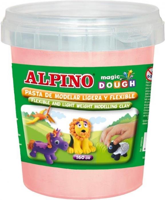 Plastilina magica, 160 grame/cutie, ALPINO - culoarea pielii 0
