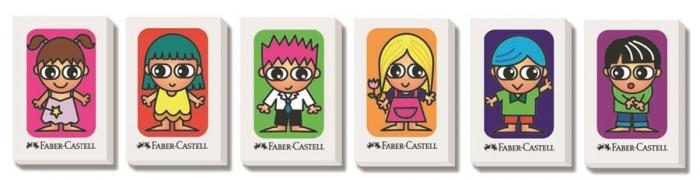Radiera Creion Faber-Castell - friends 0