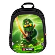 Rucsac extins LEGO V-Line - design verde NinjaGo Lloyd 0