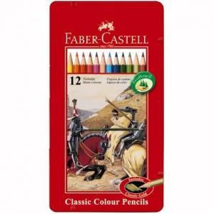 Creioane Colorate Faber-Castell - 36 culori Cutie Metal 0