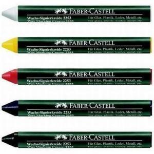 Creion cerat 2253 suprafete lucioase Faber-Castell - negru1