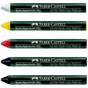 Creion cerat 2253 suprafete lucioase Faber-Castell - negru0