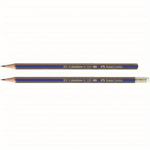 Creion Grafit Cu Guma Goldfaber 1221 Faber-Castell0