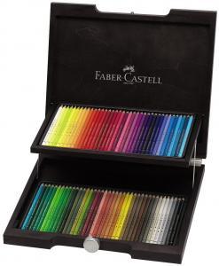 Cutie Lemn Polychromos Desen Nou 72 Buc Faber-Castell0