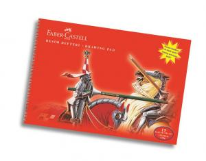 Bloc Desen A3, 15 file, 120 g/mp Faber-Castell0