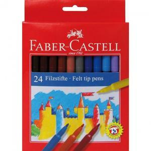 Carioci Faber-Castell - 24 culori0