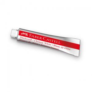 Tempera  Faber-Castell - 7.5 ml, alb0