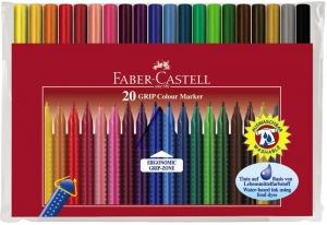 Carioca Grip Faber-Castell - 10 culori/etui plastic1
