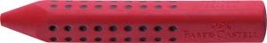 Radiera Creion Grip 2001 Faber-Castell - rosu/albastru3
