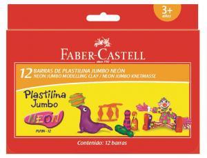 Plastilina Faber-Castell - 12 Culori Neon0