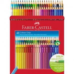 Creioane Colorate Grip 2001 Faber-Castell - 48 Culori 1