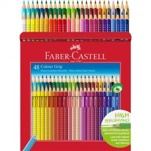 Creioane Colorate Grip 2001 Faber-Castell - 48 Culori 0