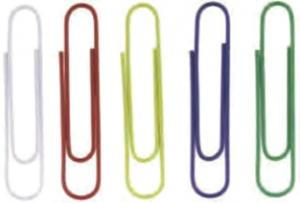 Agrafe colorate 50 mm, 100/cutie, ALCO - asortate [0]