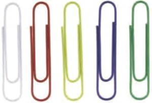 Agrafe colorate 50 mm, 100/cutie, ALCO - asortate [1]