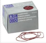 Elastice pentru bani,  500g/cutie, D 85 x 1,5mm, ALCO2