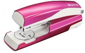 Capsator metalic, LEITZ WOW 5502 NeXXt Series, cutie, 30 coli - roz metalizat0
