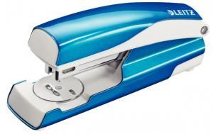 Capsator metalic, LEITZ WOW 5502 NeXXt Series, cutie, 30 coli - albastru metalizat0