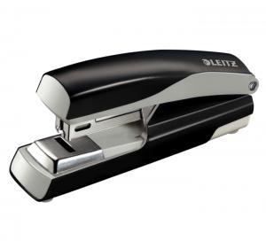 Capsator metalic, LEITZ 5505 NeXXt Series capsare plata,  30 coli - negru2