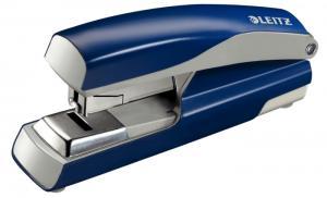 Capsator metalic, LEITZ 5523 NeXXt Series, 40 coli, capsare plata - albastru2