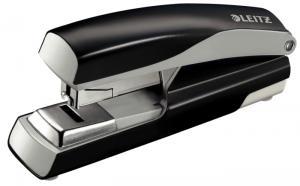 Capsator metalic, LEITZ 5523 NeXXt Series, 40 coli, capsare plata - negru0