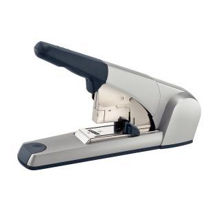 Capsator metalic de mare capacitate LEITZ 5553, capsare plata, 120 coli - gri0