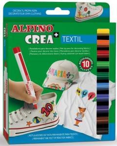 Set ALPINO Crea + TEXTILE - carioca2
