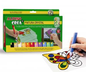 Set ALPINO Crea + Crystal Paint0
