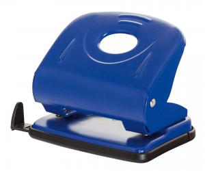 Perforator metalic, 30 coli, Office Products - albastru3