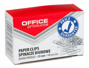 Agrafe metalice 33mm, 100/cutie, Office Products0