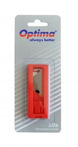 Rezerve cutter trapezoidale SK5, 10 buc/tub dispenser, in blister, Optima [0]