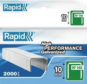 Capse RAPID 140/10, 2.000 buc/cutie - pentru pistol de capsat RAPID0