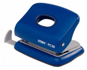 Perforator plastic RAPID FC20, 20 coli - albastru0