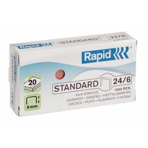 Capse RAPID Standard 26/6, 1000 buc/cutie [0]