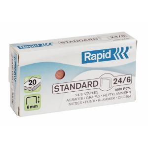 Capse RAPID Standard 26/6, 1000 buc/cutie [2]