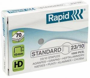 Capse RAPID Standard 23/10, 1000 buc/cutie - pentru 40-70 coli [0]