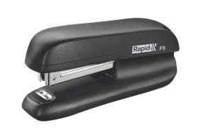 Mini-capsator plastic RAPID F5, 10 coli - negru0