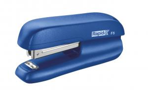 Mini-capsator plastic RAPID F5, 10 coli - albastru [1]