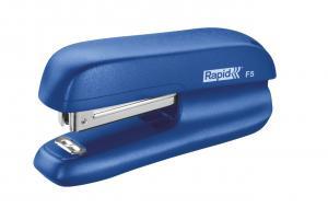 Mini-capsator plastic RAPID F5, 10 coli - albastru [0]