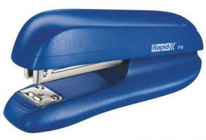 Capsator plastic RAPID F6, 20 coli - albastru0