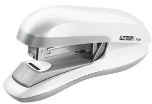Capsator plastic RAPID F30, 30 coli, capsare plata - alb0