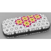 Penar cu fermoar, ZIP..IT Color In - Big Flowers - EAN 72901031970872