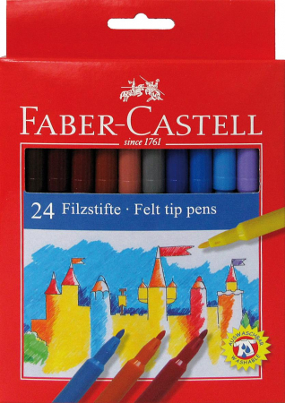 Carioci Faber-Castell, 36 culori0
