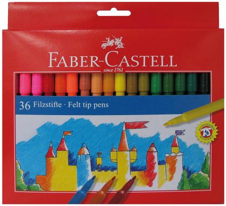 Carioci Faber-Castell, 36 culori2