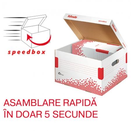 Container de arhivare ESSELTE Speedbox cu capac M [0]