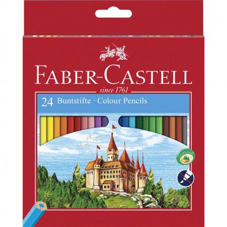 Creioane Colorate Eco Faber-Castell, 6 culori3