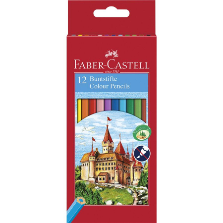 Creioane Colorate Eco Faber-Castell, 6 culori4